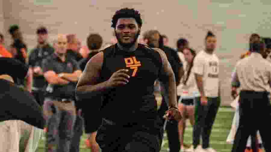 Kendrick Norton, jogador do Miami Dolphins  - Reprodução