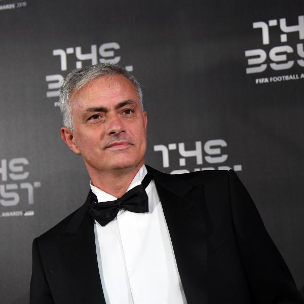 """O técnico José Mourinho foi mais um a marcar presença no evento """"The Best"""", da Fifa"""