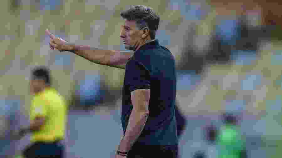Renato Gaúcho abortou ideias depois da derrota por 5 a 0 para o Flamengo pela Libertadores - Lucas Uebel/Grêmio FBPA