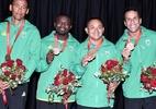 Brasileiros recebem medalha de bronze herdada dos Jogos Olímpicos de Pequim