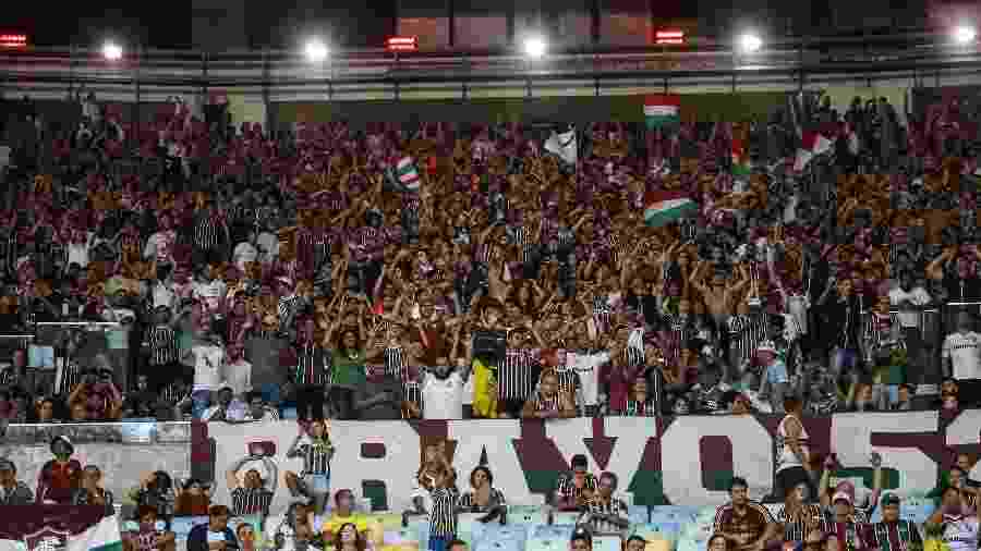 Fluminense levou prejuízo no Maracanã em jogo contra a Portuguesa - Lucas Merçon/Fluminense FC