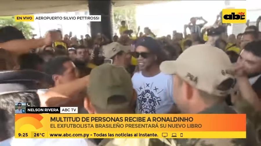 Brasileiro lançará projeto social e livro amanhã, em Assunção - ABC TV/Reprodução