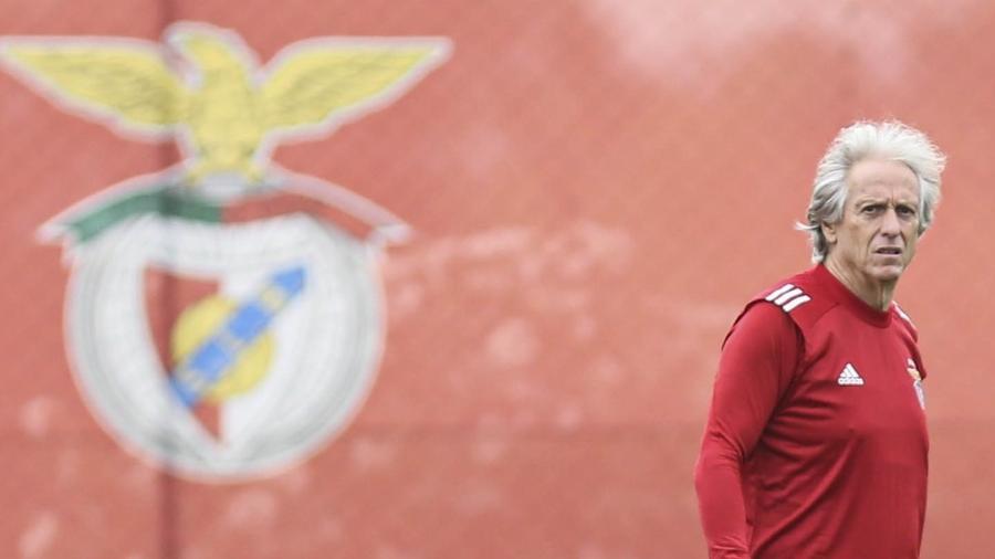 Jorge Jesus afirmou que ficou feliz pelo título do Flamengo no Brasileirão - Divulgação