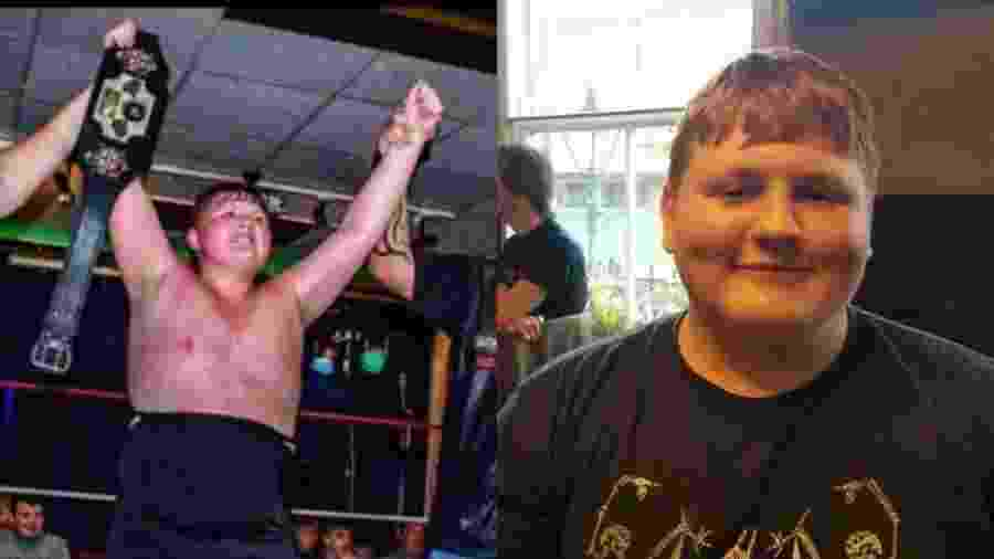 O lutador profissional Cameron Wellington morreu em razão da covid-19 na última semana, na Inglaterra - Reprodução/Birmingham Live