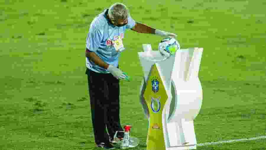 CBF muda data de jogos do Campeonato Brasileiro por final da Libertadores - Diogo Reis/AGIF