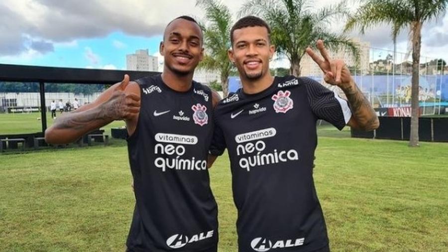 Raul Gustavo e João Victor estão em alta no Corinthians  - Reprodução/ Instagram