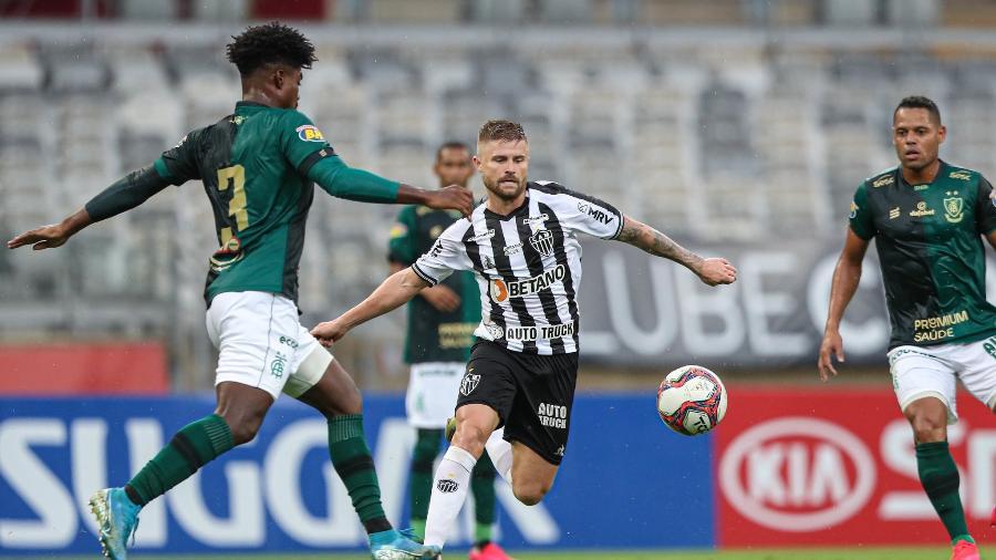 Galo bateu o Coelho por 3 a 1 na fase classificatória do estadual e chega à final com vantagens - Pedro Souza/Atlético-MG