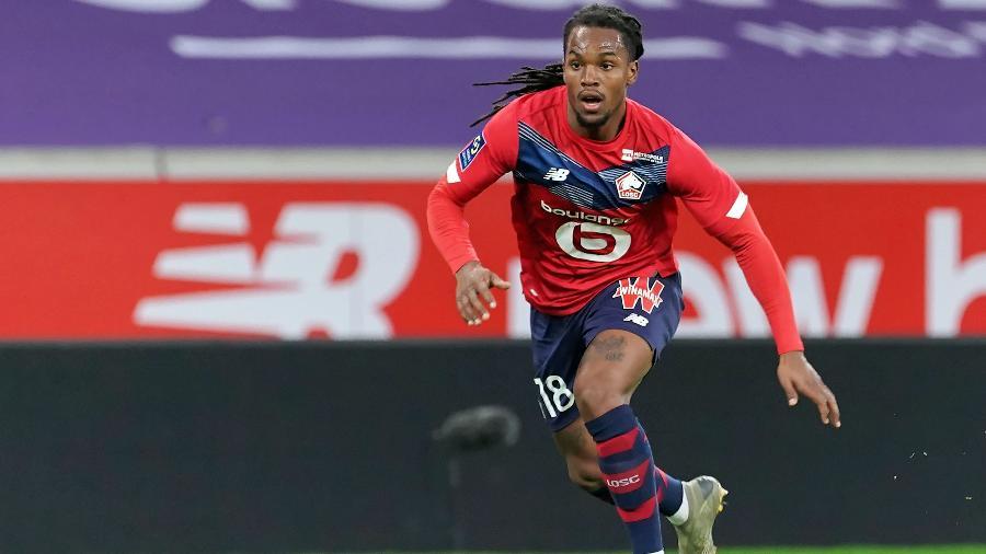 Renato Sanches, do Lille, é especulado na equipe de Jurgen Klopp para a próxima temporada - Sylvain Lefevre/Getty Images