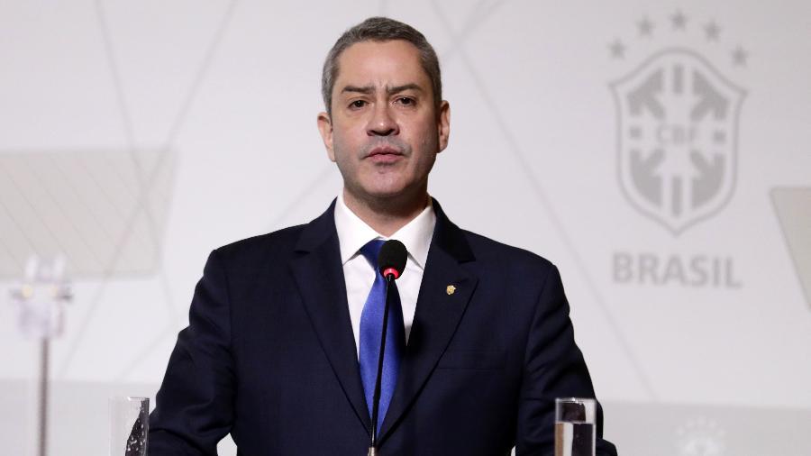"""""""Os jogadores nunca falaram em boicotar a Copa América"""", disse o dirigente - Lucas Figueiredo/CBF"""