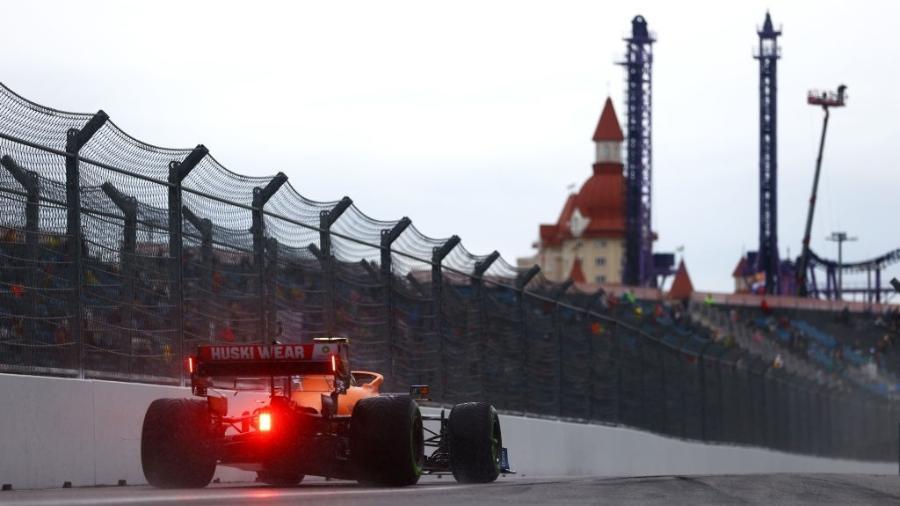 Lando Norris ganha primeira pole position da carreira - GettyImages