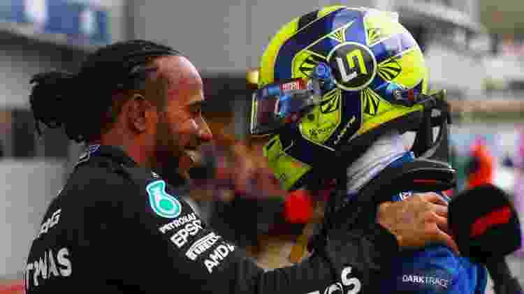 Hamilton e Norris - Dan Istitene - Formula 1/Formula 1 via Getty Images - Dan Istitene - Formula 1/Formula 1 via Getty Images