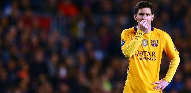 Pesquisadores analisaram o estilo de jogo de Lionel Messi - ZUMAPRESS