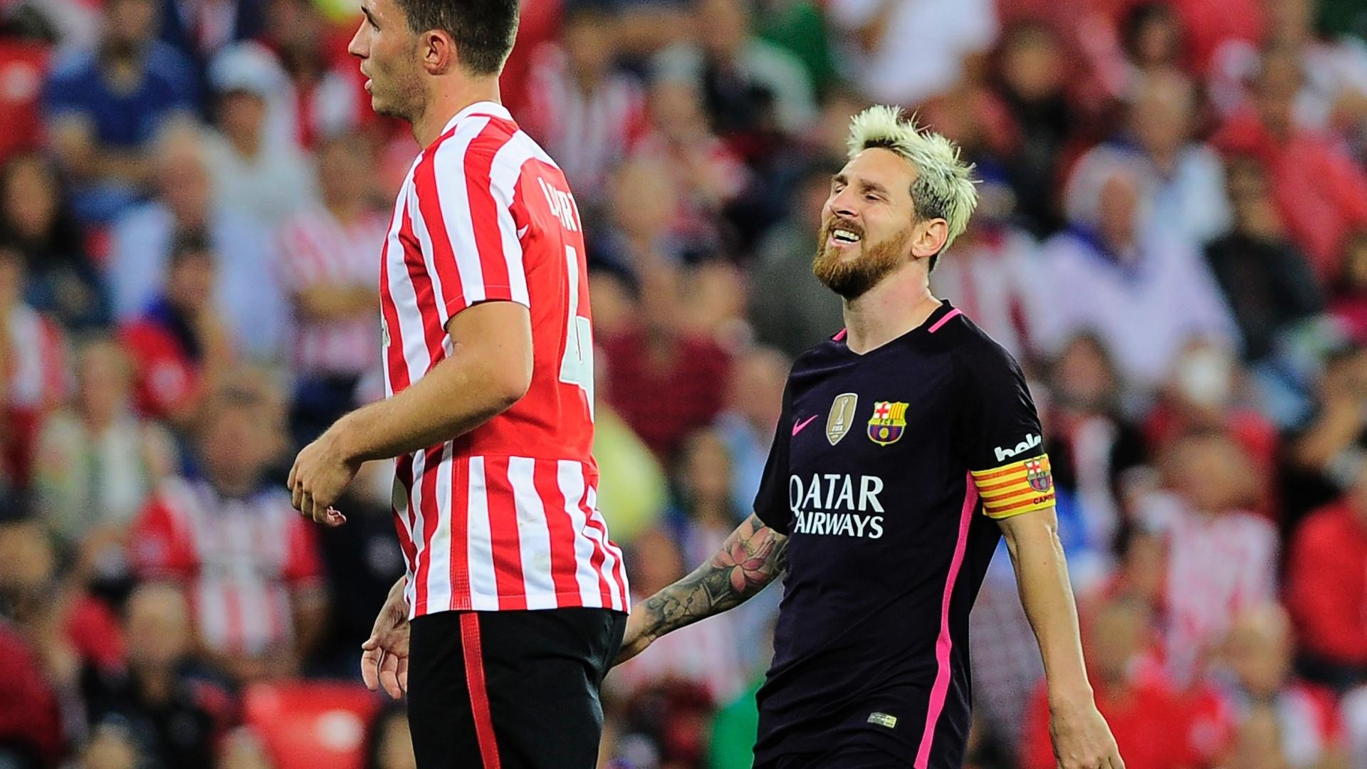 Messi lamenta chance desperdiçada