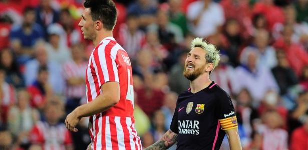 Messi passou em branco no jogo - Ander Gillenea/AFP