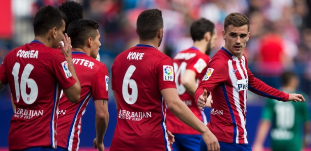 Jogadores são colegas no Atlético de Madri - Gonzalo Arroyo Moreno/Getty Images