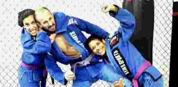 Aline, Ricardo e Bianca Sattelmayer, lutadores de MMA, vivem união poliafetiva em SP - Arquivo pessoal