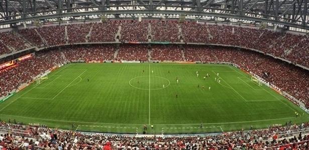 Atlético-PR proibiu a realização de imagens na Arena da Baixada durante partidas - Arquivo Site Oficial CAP