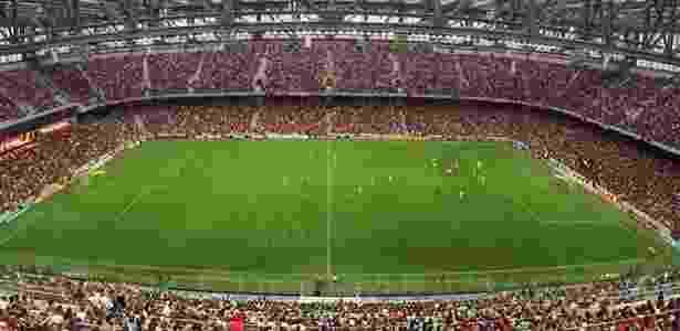 A Arena da Baixada estará lotada em mais um confronto entre Atlético-PR e Flamengo - Arquivo Site Oficial CAP