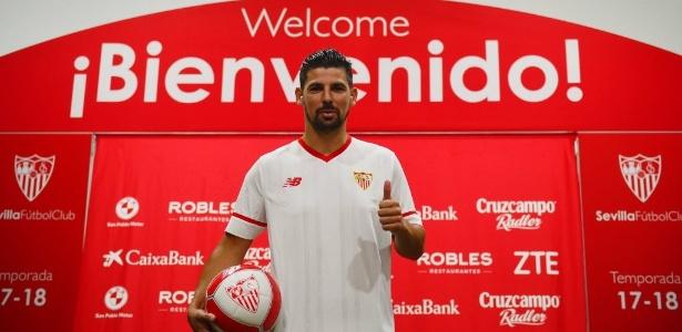 Nolito está no Sevilla nesta temporada - AFP PHOTO / CRISTINA QUICLER