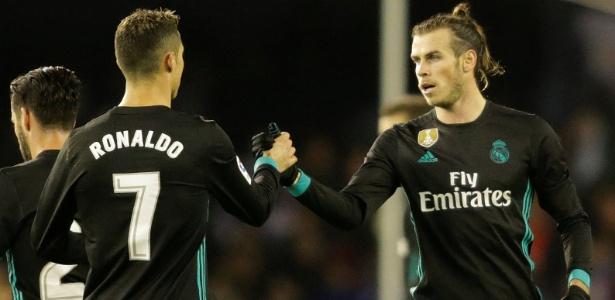 """""""Eles vão continuar conosco"""", diz Zidane sobre saídas e Bale (foto) e Benzema - Miguel Vidal/Reuters"""