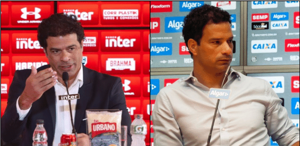 No clássico deste domingo, Raí e o sobrinho Gustavo promovem o primeiro duelo na história da família - Rubens Chiri/Divulgação/Divulgação/SantosFC