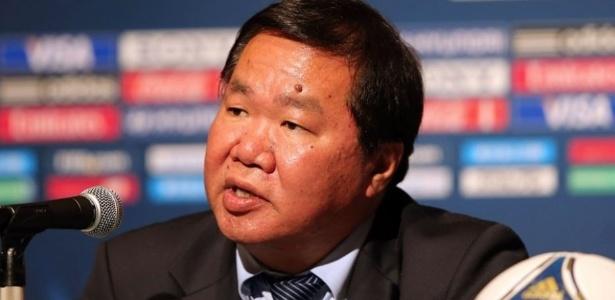 David Chung ocupava o cargo de vice-presidente da Fifa