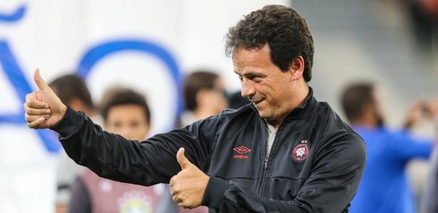Fernando Diniz comandou o Atlético na melhor estreia do time em todos os tempos no Brasileirão