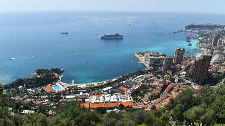 Monte Carlo, um dos distritos de Mônaco - Yann Coatsaliou/AFP Photo