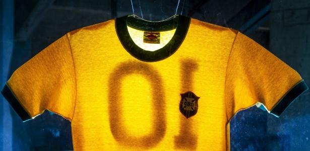 Camisa de Pelé na Copa de 1970 - Adriano Vizoni/Folhapress