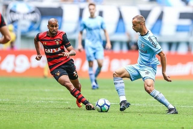 Grêmio e Sport se enfrentam na Arena do Grêmio pelo Campeonato Brasileiro 2018