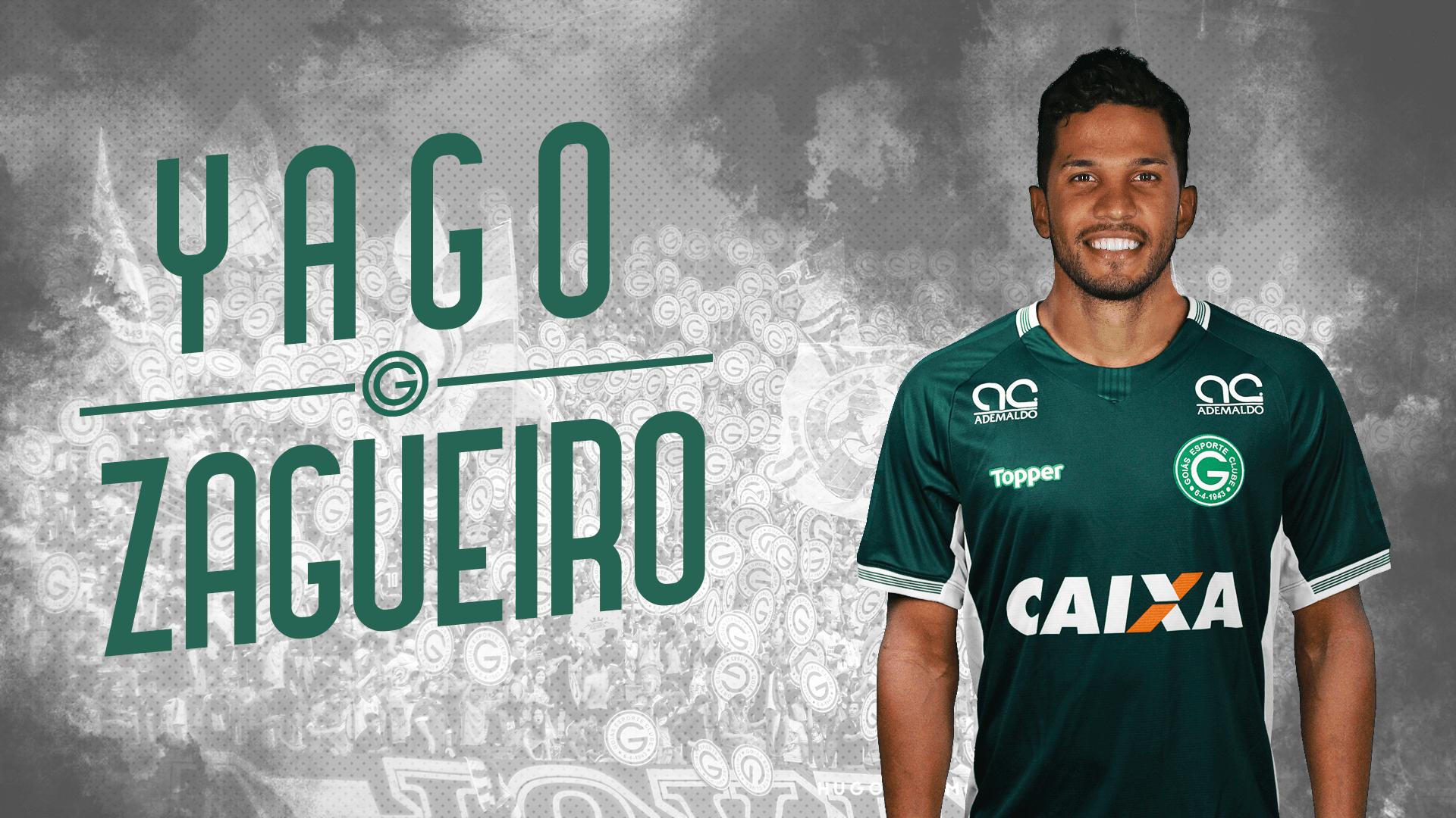 Zagueiro Yago, novo reforço do Goiás
