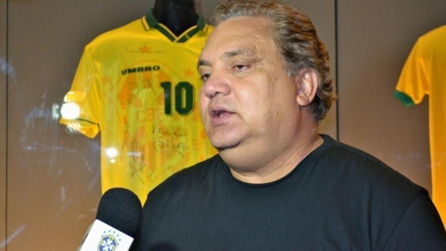 Branco, ex-jogador da seleção brasileira, recebeu alta após ficar internado com covid-19 - Divulgação/CBF