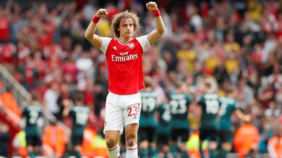 David Luiz não ficou no Arsenal e segue na mira do Flamengo - David Klein/Reuters
