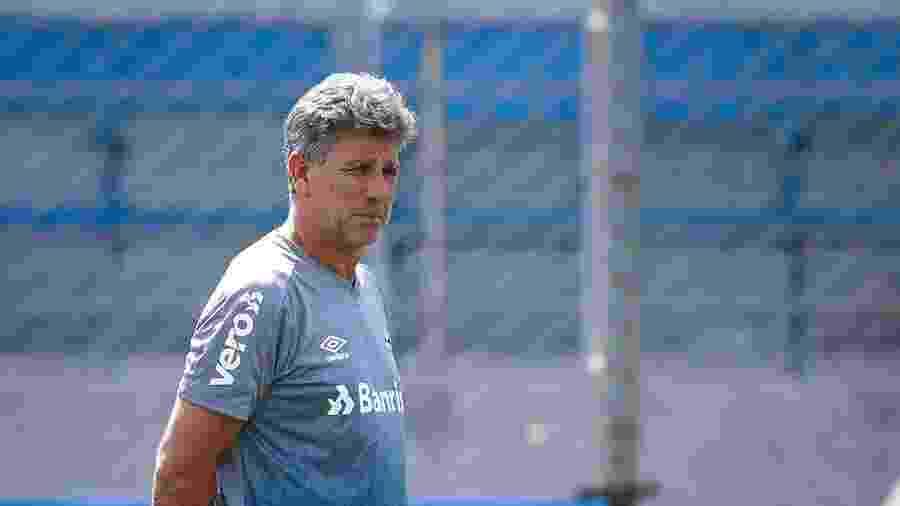 Renato Gaúcho não quis opinar sobre a mudança de comportamento do Internacional - Lucas Uebel/Grêmio FBPA