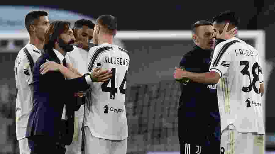 A Juventus, de Andrea Pirlo, estreou com vitória no Campeonato Italiano - Miguel Medina/AFP