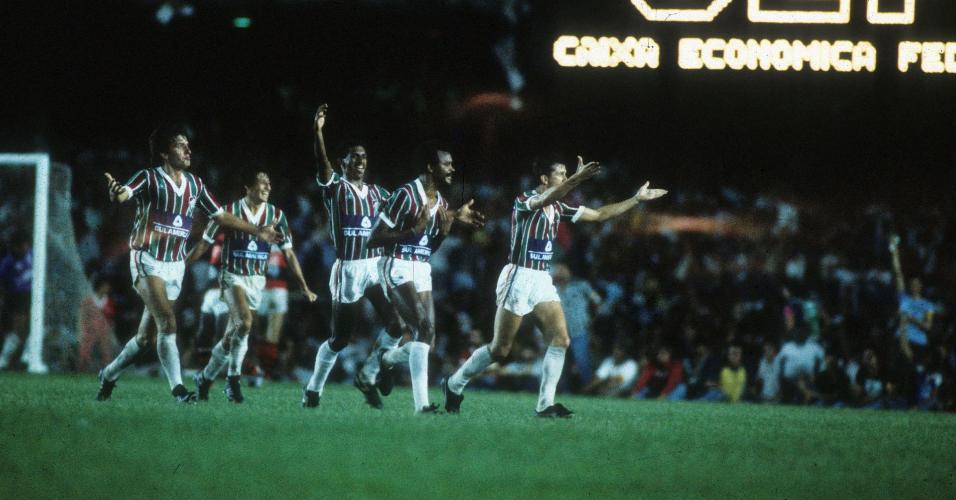 Fluminense em jogo válido pelo campeonato brasileiro de 1970
