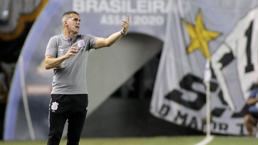 Mancini chegou ao segundo jogo seguido com derrota sob o comando do Corinthians  - Rodrigo Coca/ Ag. Corinthians