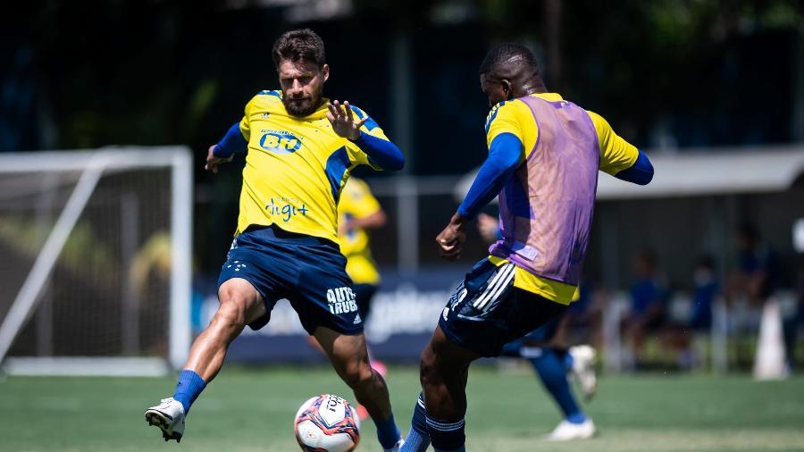 Destaque do time em 2020, Rafael Sóbis perdeu espaço entre os titulares na atual temporada - Bruno Haddad/Cruzeiro