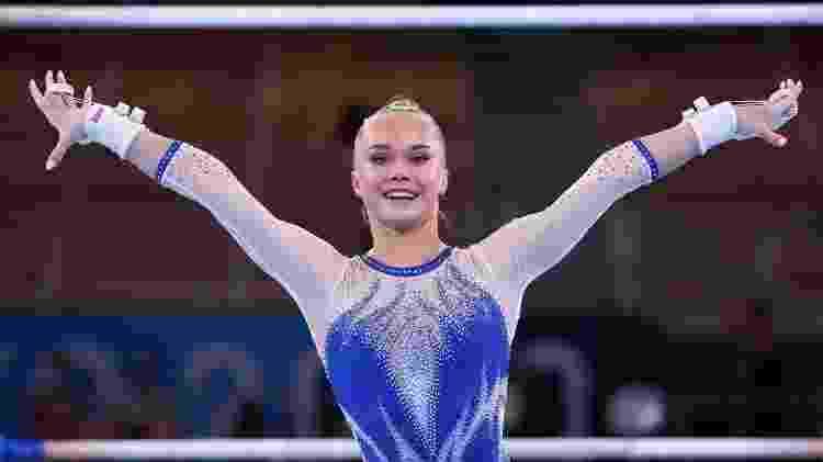 Angelina Melnikova, ginástica artística da Rússia - REUTERS/Mike Blake - REUTERS/Mike Blake