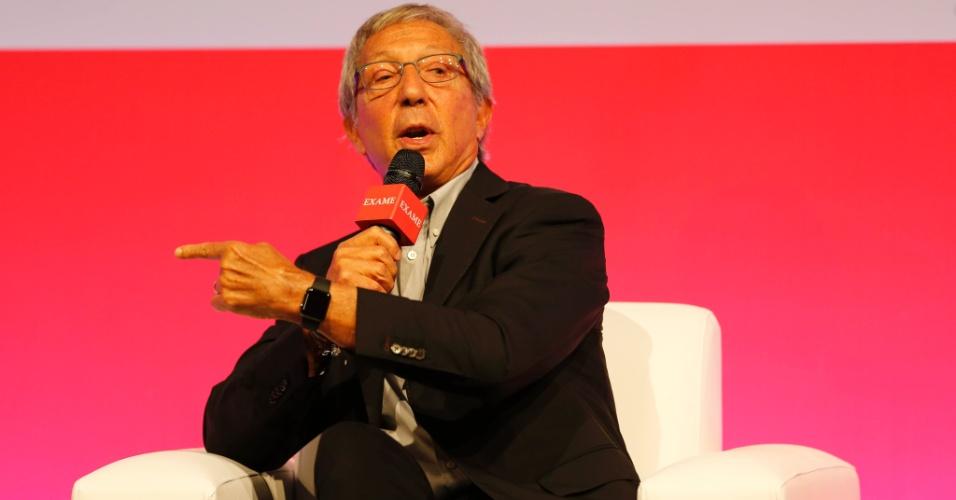 O empresário Abilio Diniz