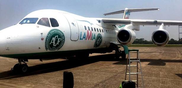 Avião da Lamia caiu em Medellin