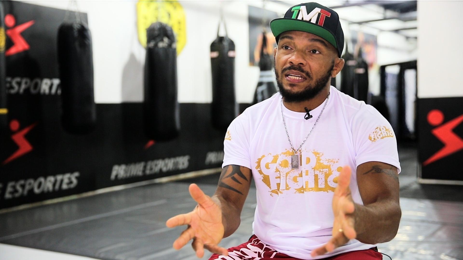 Marco Babuíno, promotor do Gold Fight, evento de MMA em São Paulo