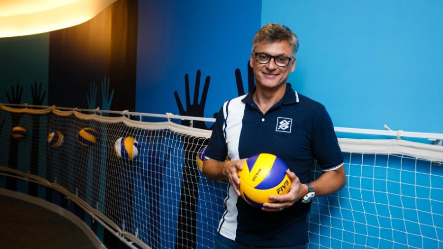 Renan Dal Zotto - novo técnico da seleção masculina de vôlei - CBV/Divulgação