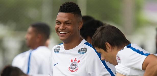 Bruno Paulo durante treino do Corinthians no ano passado: poucas chances no clube - Daniel Augusto Jr. / Ag. Corinthians