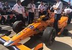 Fernando Alonso largará em 5º nas 500 milhas de Indianápolis; Kanaan, em 7º - McLaren Honda Andretti/Twitter/Divulgação