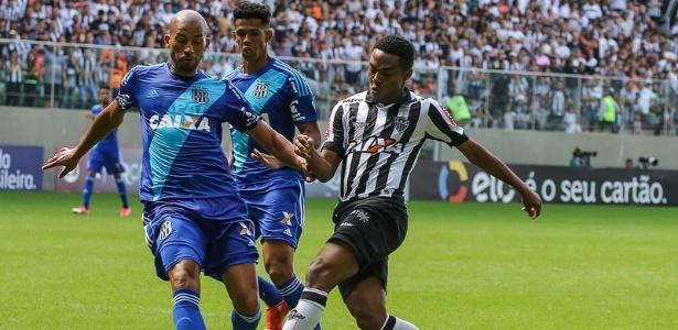 Contra a Ponte Preta, Atlético-MG voltou a sofrer gols no início do segundo tempo