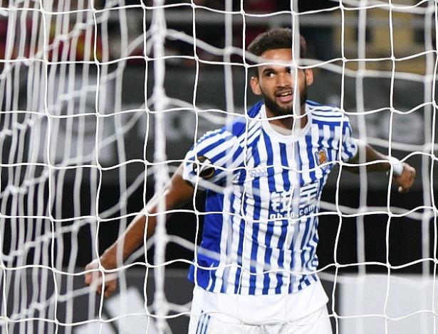 Willian José é atacante da Real Sociedad, da Espanha