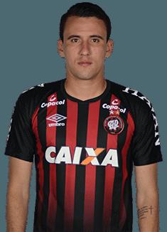 Pablo Felipe Teixeira, atacante do Atlético-PR