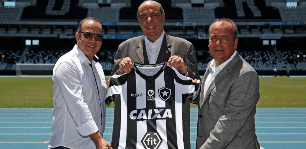 Botafogo apresentou a marca Fit como nova parceira na temporada 2019 - Divulgação/Botafogo