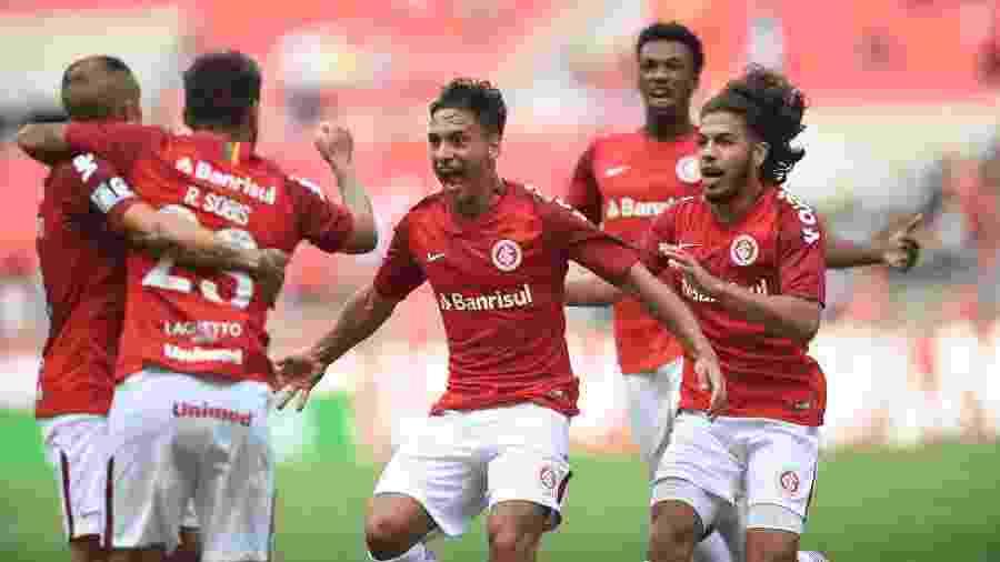 Martin Sarrafiore deve começar a partida contra o São Paulo neste sábado, em Porto Alegre - Ricardo Duarte/Inter